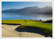 Golfing in Queenstown